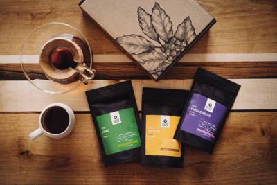 Probierpakete mit 3 Sorten Kaffee