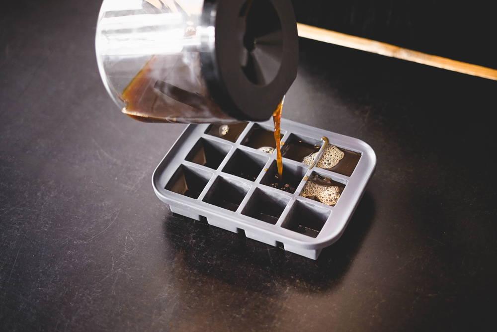 Rezeptideen für Eiskaffee im Büro