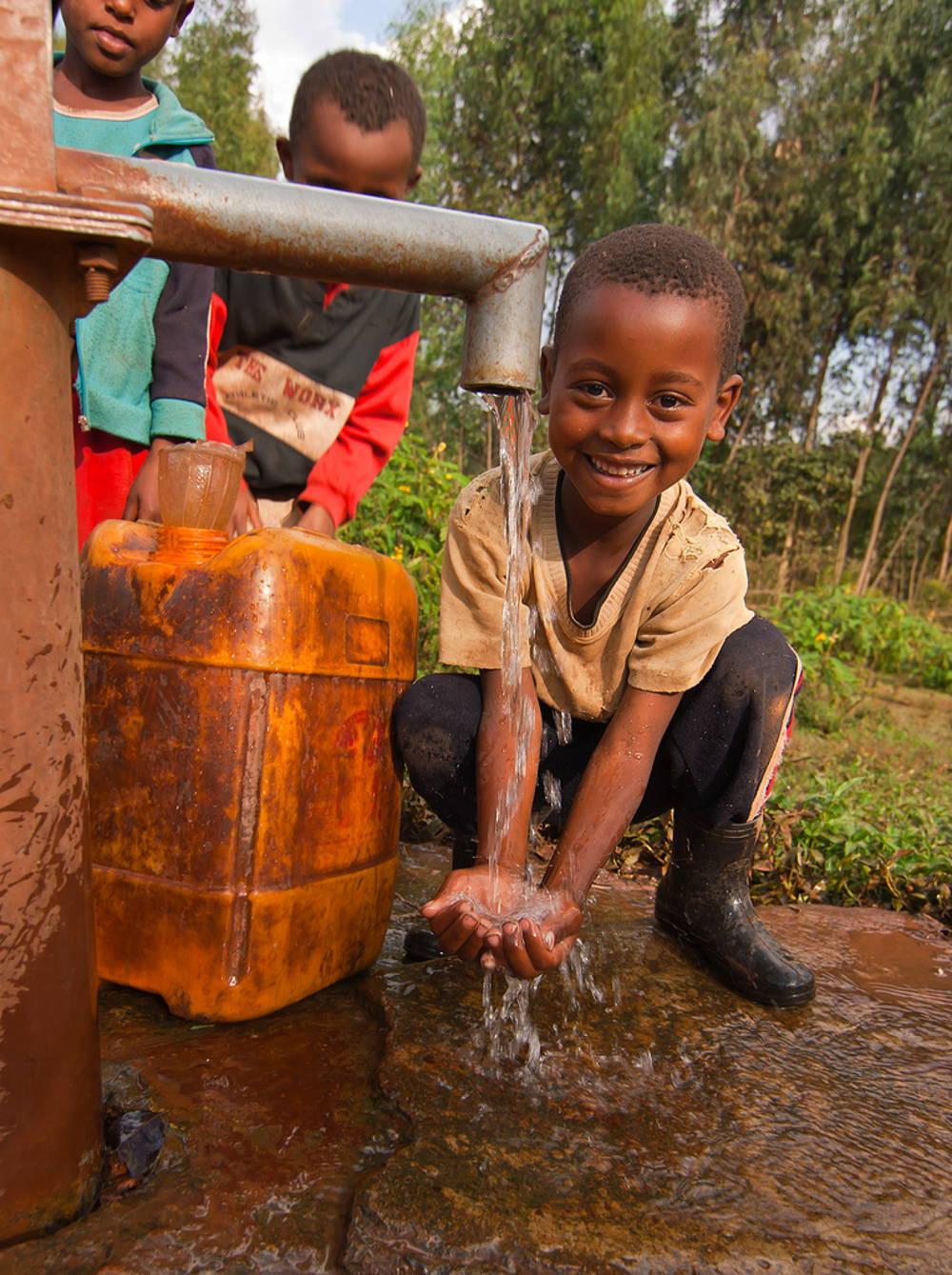 Unser Wasser- und Hygieneprojekt in Äthiopien