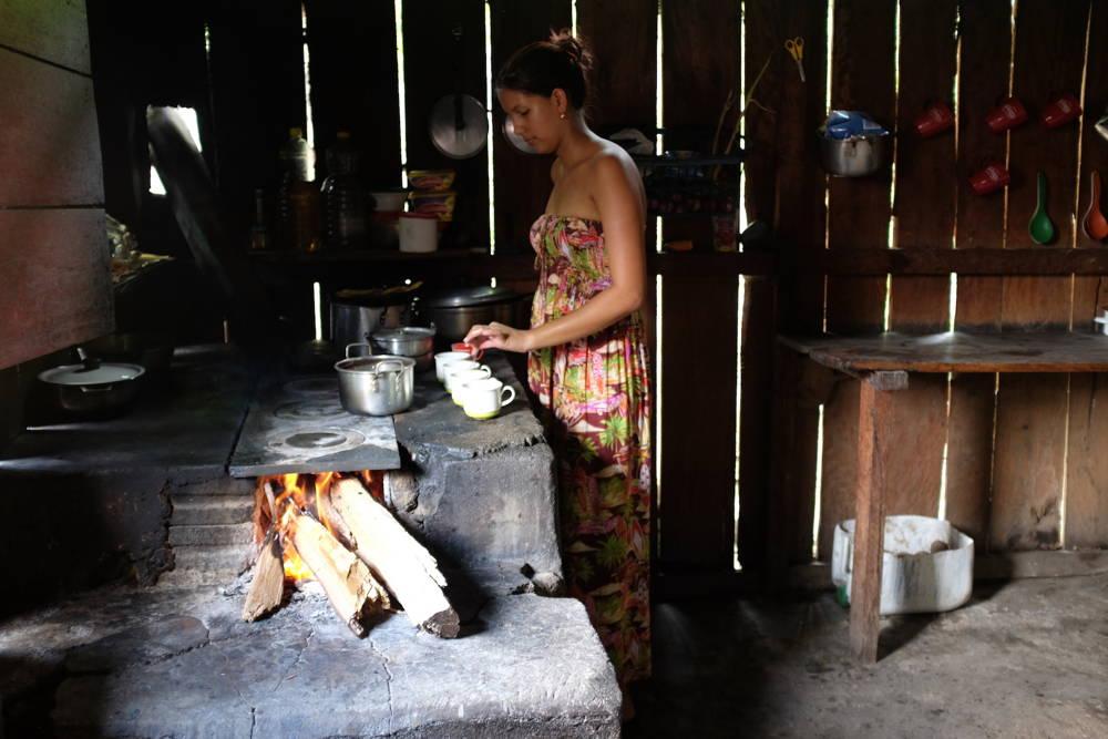 Traditionelles Essen in Kolumbien