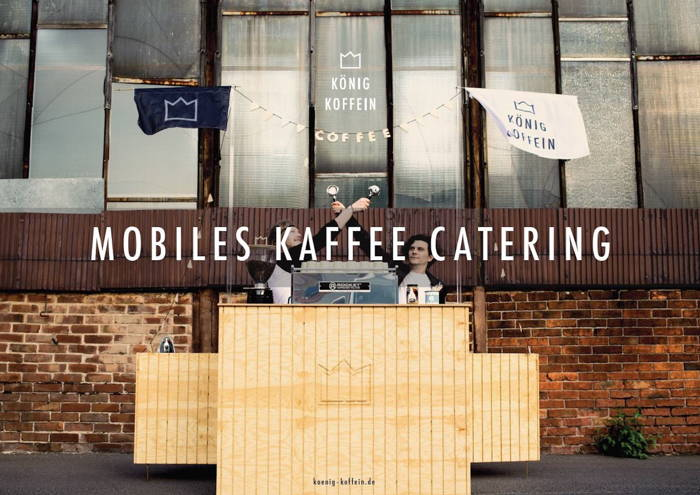 Mobiles Kaffee Catering