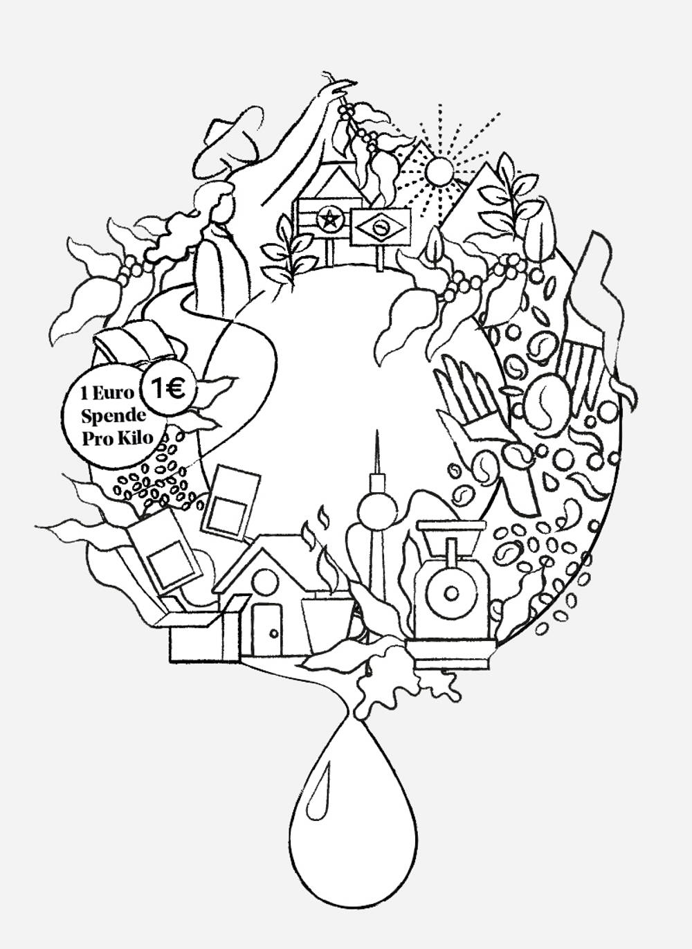 logo, the dripa