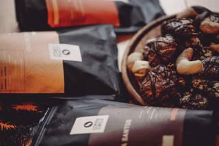 Unsere Plätzchen mit Coffee Circle Kaffee