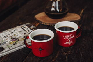 Ein gemütlicher Nachmittag mit unserem Buch und unserem Kaffee