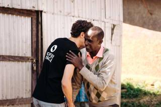 Umarmung in Äthiopien