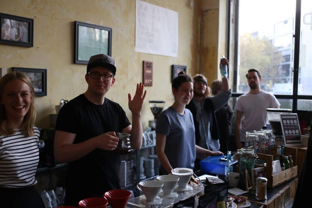 Pop Up Café Rückblick