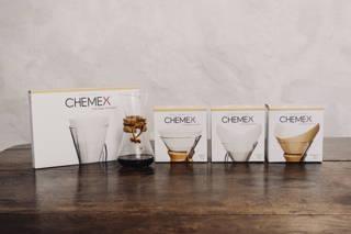 Die verschiedenen Filter der Chemex
