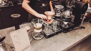 Die Ausstattung im Coffee Island