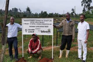 Kaffeefarmer auf Thiririka in Kenia