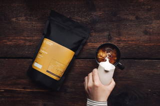 Toleyo Kaffee mit Milch