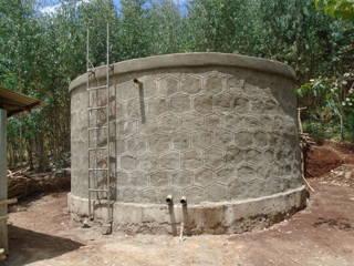 Fertiger Brunnen