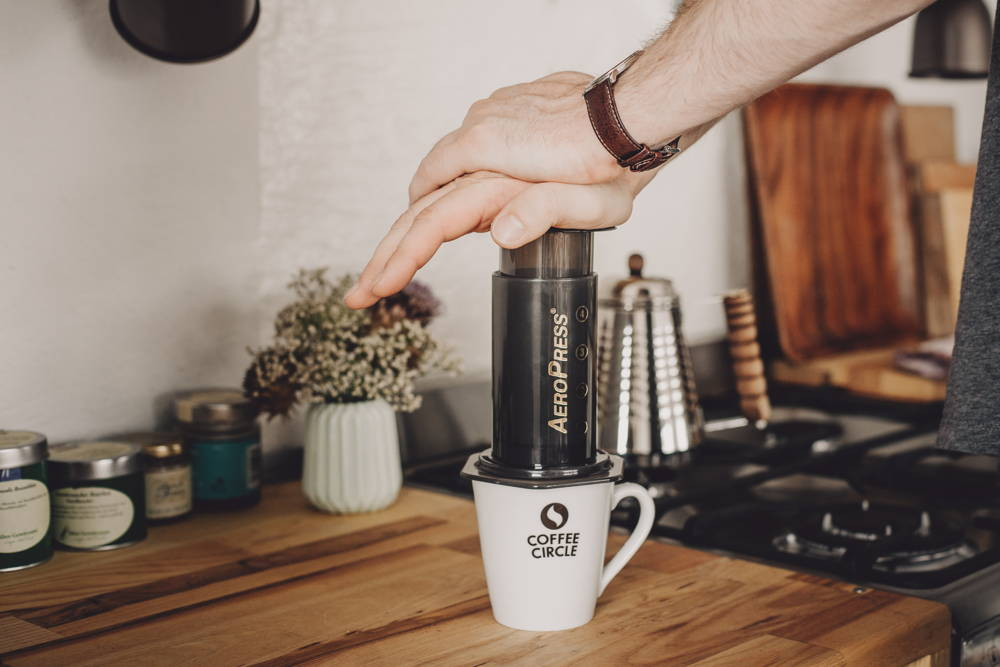 Filterkaffee mit der AeroPress zubereiten