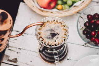 Kaffee mit dem Kalita Wave Handfilter