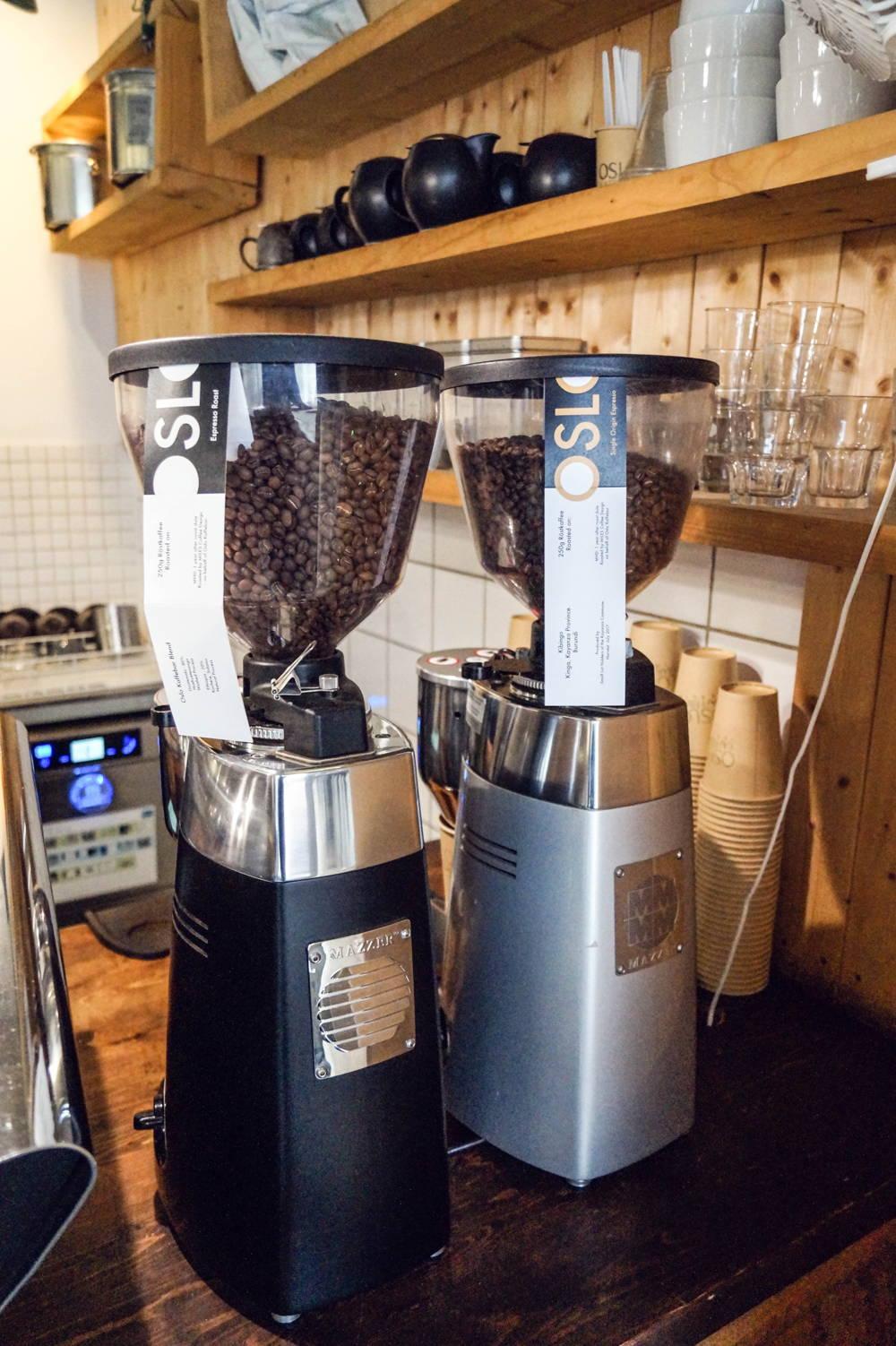 Espresso Auswahl