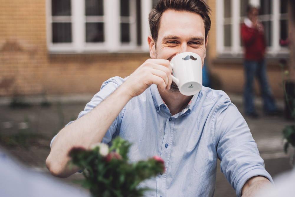 Mit gutem Kaffee immer gelungen