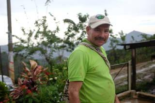 Luis von der Kooperative Coocafé in Kolumbien
