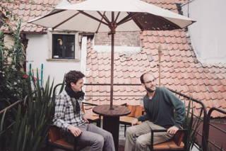Die Dachterasse des Café Cultor
