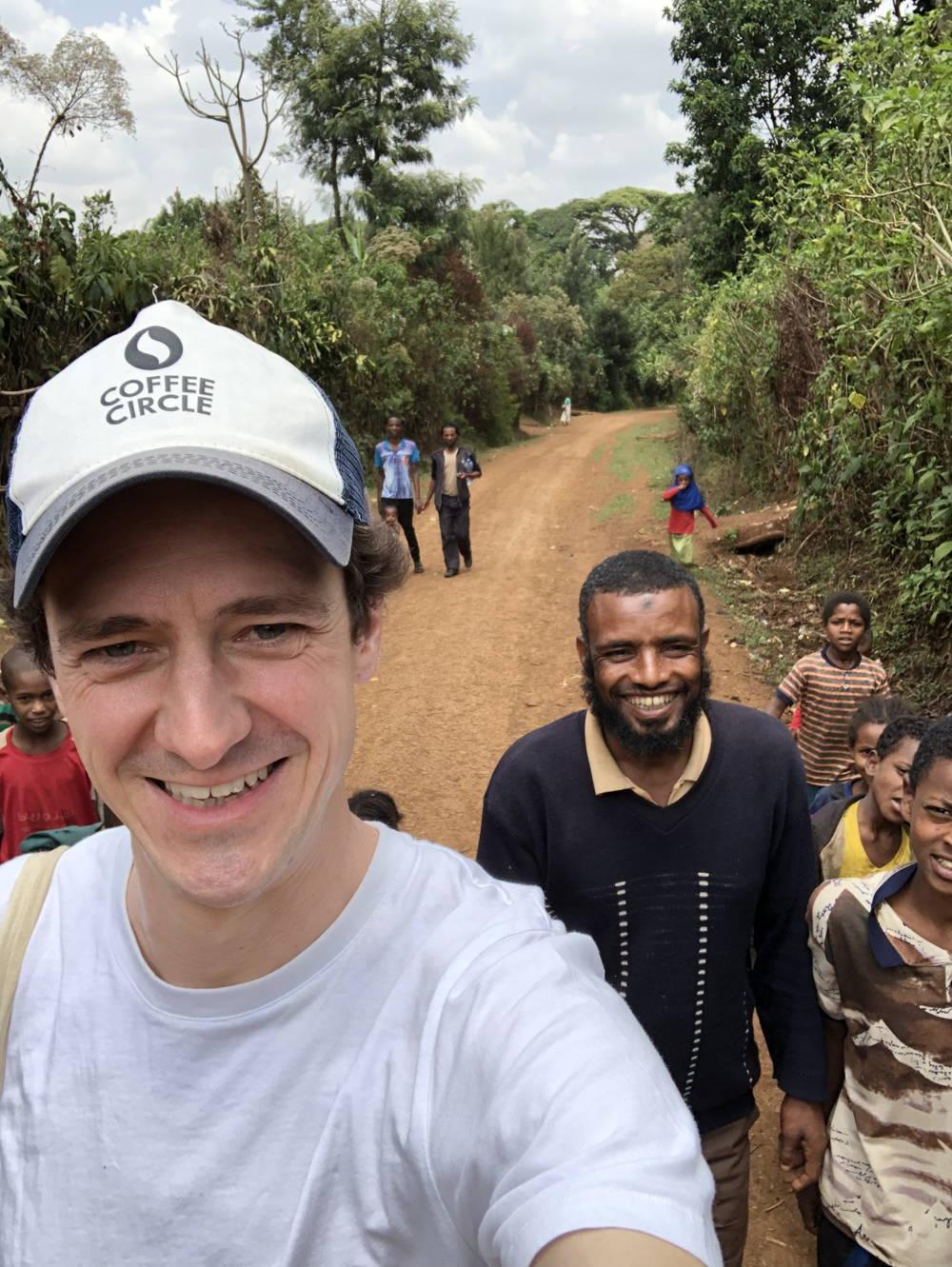 Martin in Äthiopien
