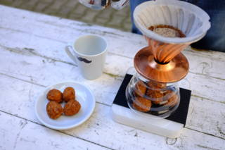 Leckerer Kaffee mit Buletten