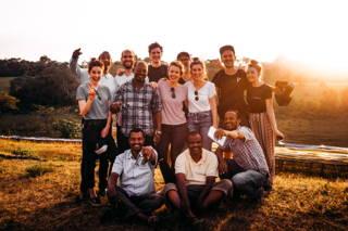 Das Team in Äthiopien