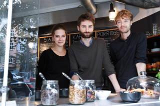 Richtig guten Kaffee gibt's im Haferkater in Berlin