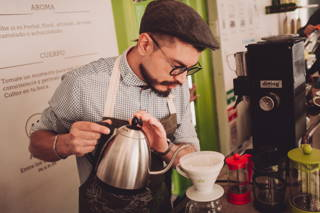 Wer in Bogotá ist, sollte unbedingt im Café Cultor vorbeischauen
