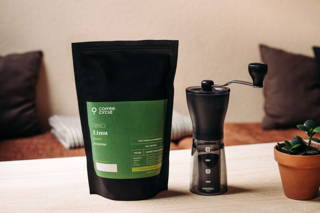 Limu Filterkaffee und Hario Mini Mill