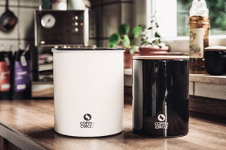 Coffee Circle Canister