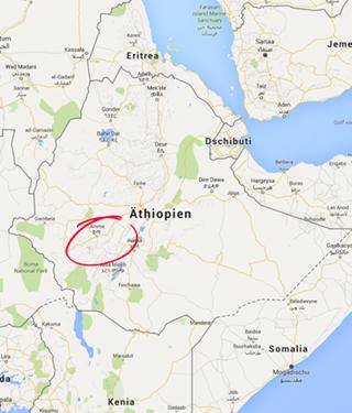 Yirgacheffe, Äthiopien