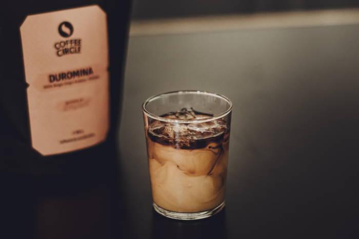 leckerer Eiskaffee - zubereitet mit dem Hario Water Dripper